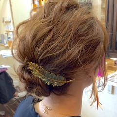 ヘアアレンジ 簡単ヘアアレンジ ボブ ショート ヘアスタイルや髪型の写真・画像