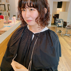 ボブ ガーリー パーマ  ヘアスタイルや髪型の写真・画像