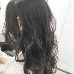 アウトドア ナチュラル デート セミロング ヘアスタイルや髪型の写真・画像