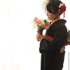 成人式ヘア 成人式 ガーリー 成人式ヘアメイク着付け ヘアスタイルや髪型の写真・画像