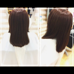 エレガント 髪質改善カラー 髪質改善トリートメント 社会人の味方 ヘアスタイルや髪型の写真・画像