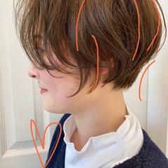 ショートヘア ショート ベリーショート ミニボブ ヘアスタイルや髪型の写真・画像