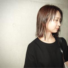 アッシュ ハイライト ボブ 外国人風 ヘアスタイルや髪型の写真・画像
