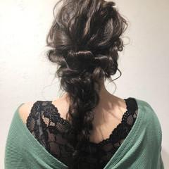 外国人風 結婚式 ロング 女子力 ヘアスタイルや髪型の写真・画像