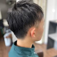 ツーブロック メンズショート メンズカット ストリート ヘアスタイルや髪型の写真・画像