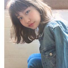 ゆるふわパーマ デジタルパーマ イルミナカラー アンニュイほつれヘア ヘアスタイルや髪型の写真・画像