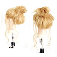 アッシュ ショート 簡単ヘアアレンジ くせ毛風 ヘアスタイルや髪型の写真・画像