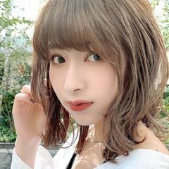 ミディアムヘアー ワンカール ミディアムレイヤー 大人ミディアム ヘアスタイルや髪型の写真・画像