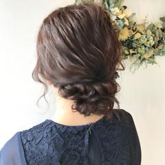 成人式 ミディアム 女子力 結婚式 ヘアスタイルや髪型の写真・画像