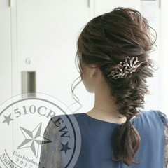 エレガント 大人かわいい ロング ショート ヘアスタイルや髪型の写真・画像