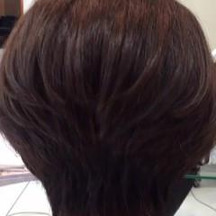 色気 ショート アッシュ マッシュ ヘアスタイルや髪型の写真・画像