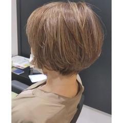 マッシュショート ショート ショートヘア ショートボブ ヘアスタイルや髪型の写真・画像