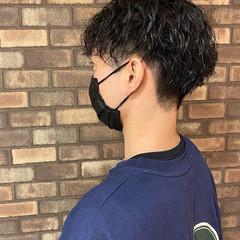 スパイラルパーマ ナチュラル メンズカット ショート ヘアスタイルや髪型の写真・画像