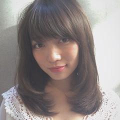 ゆるふわ 外国人風 ミディアム 大人かわいい ヘアスタイルや髪型の写真・画像