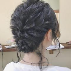 黒髪 結婚式 ヘアアレンジ 成人式 ヘアスタイルや髪型の写真・画像