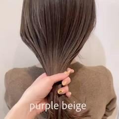ナチュラル アンニュイほつれヘア デート オフィス ヘアスタイルや髪型の写真・画像