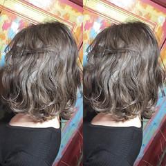 透明感 ハイライト 外国人風 ミディアム ヘアスタイルや髪型の写真・画像