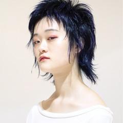 ショート モード ストリート ウルフカット ヘアスタイルや髪型の写真・画像