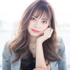 透明感 ナチュラル レイヤーカット 韓国ヘア ヘアスタイルや髪型の写真・画像