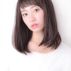 大人かわいい 艶髪 ストレート ゆるふわ ヘアスタイルや髪型の写真・画像