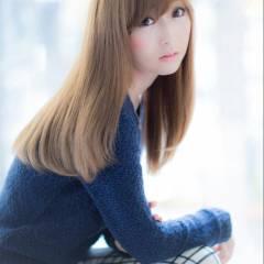 セミロング モテ髪 コンサバ ナチュラル ヘアスタイルや髪型の写真・画像
