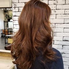 大人かわいい フェミニン 360度どこからみても綺麗なロングヘア ひし形シルエット ヘアスタイルや髪型の写真・画像