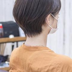小顔ショート ショートヘア フェミニン マッシュショート ヘアスタイルや髪型の写真・画像