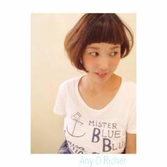 大人女子 丸顔 ストリート 刈り上げ ヘアスタイルや髪型の写真・画像