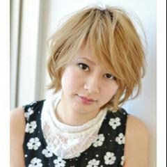 ゆるふわ 外ハネ パーマ 渋谷系 ヘアスタイルや髪型の写真・画像
