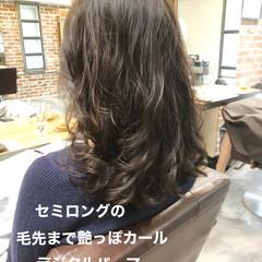 ナチュラル ゆるふわ デジタルパーマ パーマ ヘアスタイルや髪型の写真・画像
