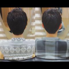 ショート ショートヘア メンズショート ベリーショート ヘアスタイルや髪型の写真・画像