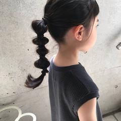 ガーリー 編みおろしヘア たまねぎアレンジ ロング ヘアスタイルや髪型の写真・画像