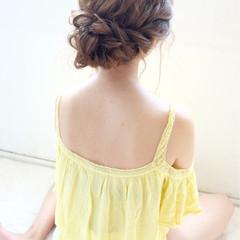愛され ショート おフェロ ヘアアレンジ ヘアスタイルや髪型の写真・画像