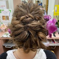 振袖 成人式ヘア 振袖ヘア ロング ヘアスタイルや髪型の写真・画像