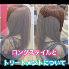 髪質改善 ロング 髪質改善カラー 大人ロング ヘアスタイルや髪型の写真・画像