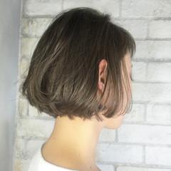ゆるふわ シースルーバング モード 外国人風 ヘアスタイルや髪型の写真・画像