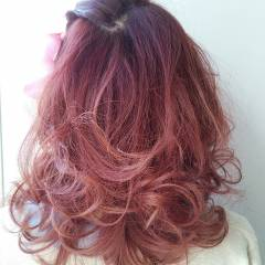 春 愛され フェミニン モテ髪 ヘアスタイルや髪型の写真・画像