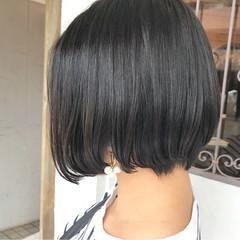 ハイライト 外国人風 ベージュ ボブ ヘアスタイルや髪型の写真・画像