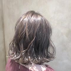 冬 ヘアアレンジ デート 透明感 ヘアスタイルや髪型の写真・画像