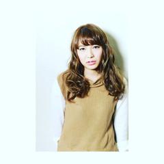 パーマ アッシュ 外国人風 ロング ヘアスタイルや髪型の写真・画像