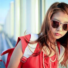 ハイライト ラフ 外国人風 ストリート ヘアスタイルや髪型の写真・画像