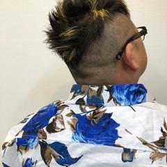 メンズカット メッシュ メンズカラー メンズヘア ヘアスタイルや髪型の写真・画像