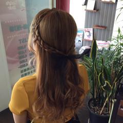 ミルクティーアッシュ ガーリー 外国人風カラー ロング ヘアスタイルや髪型の写真・画像