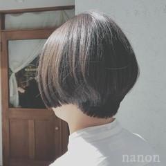 ナチュラル デート ゆるふわ ショート ヘアスタイルや髪型の写真・画像