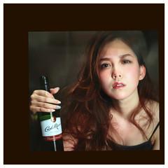 ロング ゆるふわ フェミニン 暗髪 ヘアスタイルや髪型の写真・画像