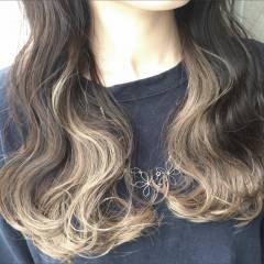 ストリート 外国人風 黒髪 ミディアム ヘアスタイルや髪型の写真・画像