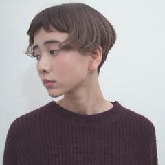 ショート ストリート ハイライト 大人かわいい ヘアスタイルや髪型の写真・画像