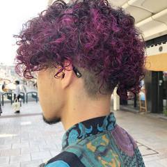 ショート メンズヘア ストリート メンズカラー ヘアスタイルや髪型の写真・画像