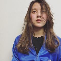 ハイトーン ストリート 外国人風 ロング ヘアスタイルや髪型の写真・画像