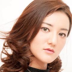 ミディアム アッシュ ブラウン 外国人風 ヘアスタイルや髪型の写真・画像